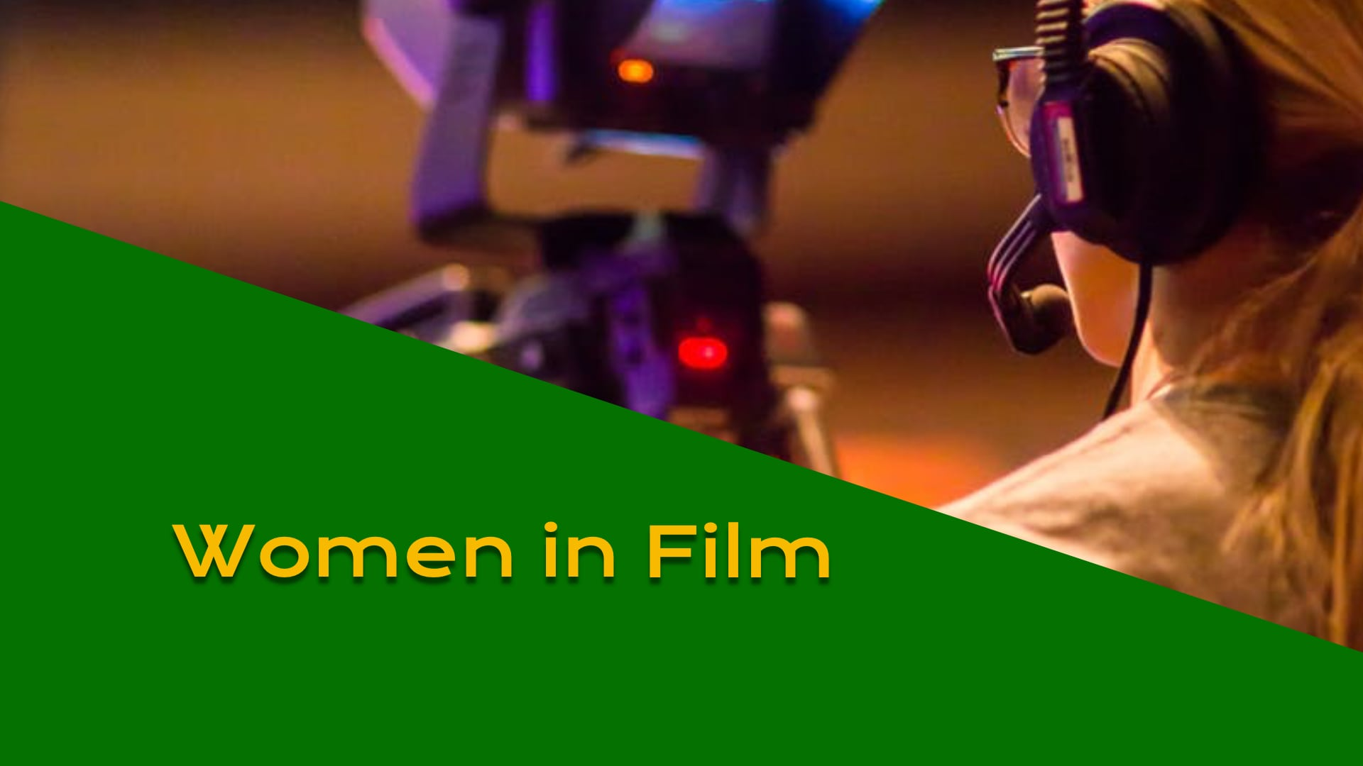 Carrie Sheldon and Mary Jo Devenny stop by to discuss Women in Film
