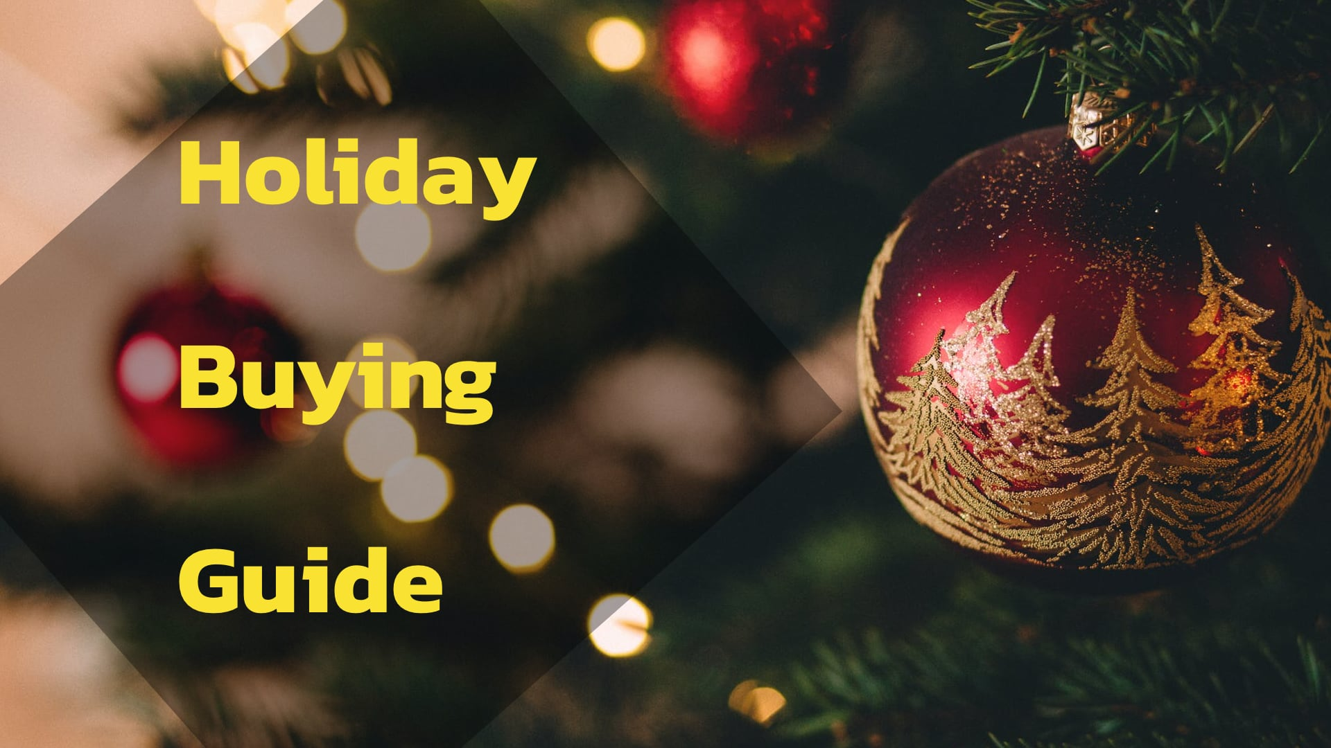 There are a bunch of fun and exciting things to put under the tree for yourself this year...