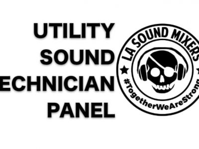 Utility Sound Technician Panel Discussion and Masterclass