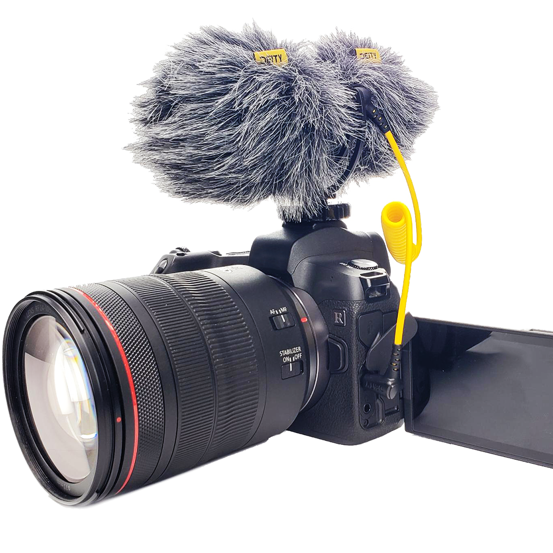 The D4 Duo is a great microphone for when you are doing on the fly interviews and you need both sides of the audio clean.