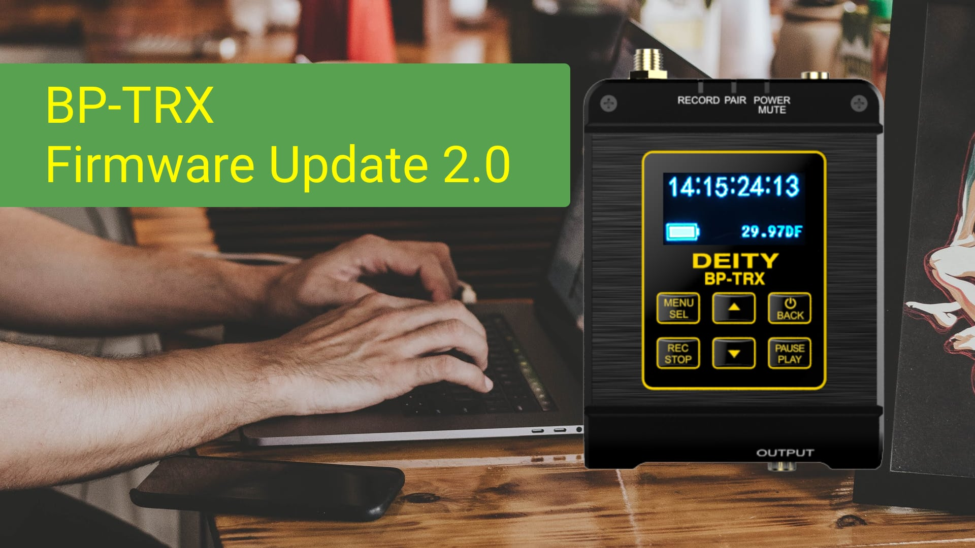 BP-TRX Firmware Update 2.0
