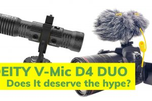 The Deity V-Mic D4 Duo is a new microphone geared towards camera operators and interviewers to get their own audio clean in the mix!