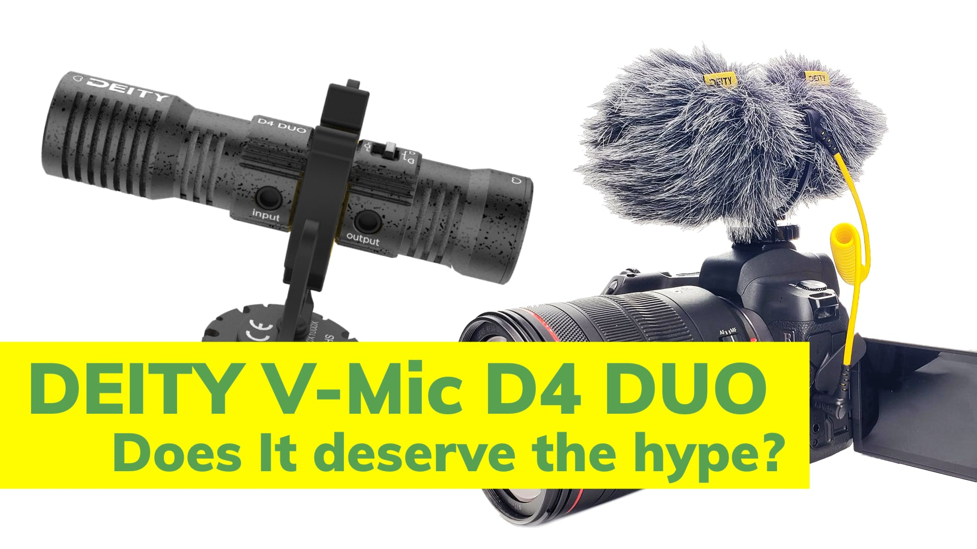 First Look at the Deity V-Mic D4 Duo