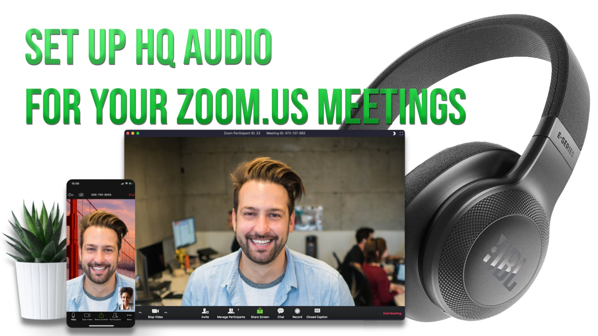 Set Up High Quality Audio for your Zoom Meetings