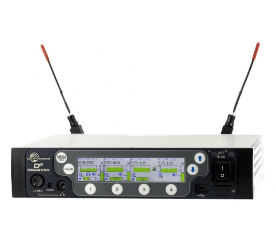 The DSQD from Lectrosonics is a lot of receiver in a small package