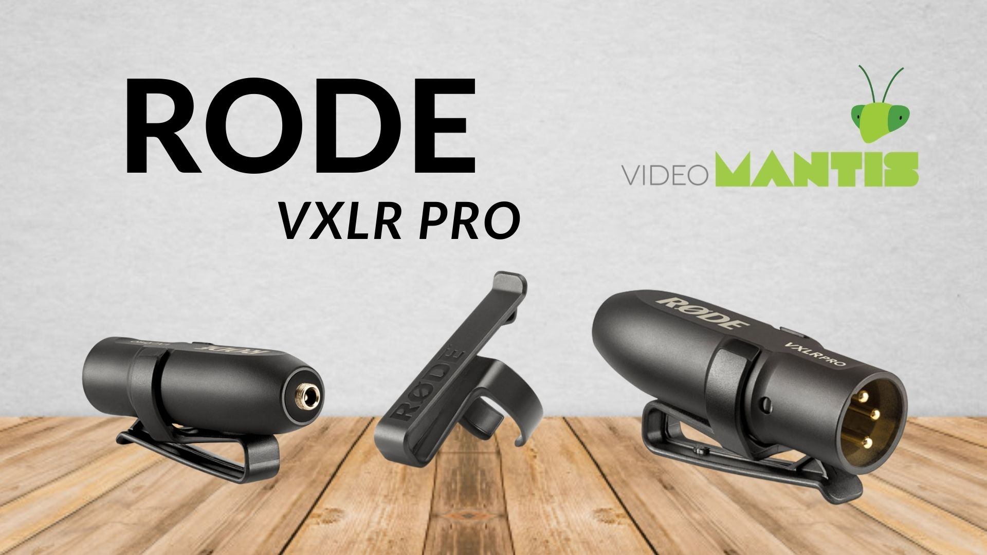 Introducing the VXLR Pro from Rode!