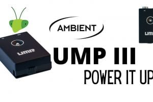 Power It Up with the Ambient UMP III Universal Microphone Power Supply