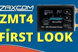 The New Zaxcom ZMT4 has a lot of amazing features inside a small form factor
